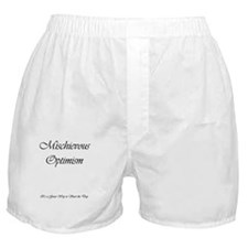 Michievous Optimism Boxer Shorts