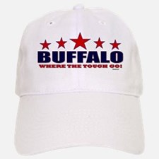 Buffalo Where The Tough Go Baseball Baseball Cap