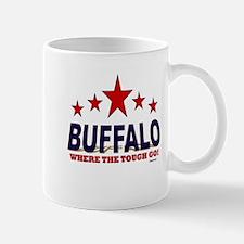Buffalo Where The Tough Go Mug