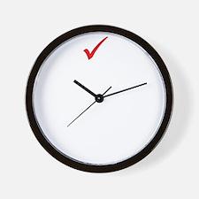 vote democrat Wall Clock