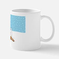 snowbeaglelaptop Mug