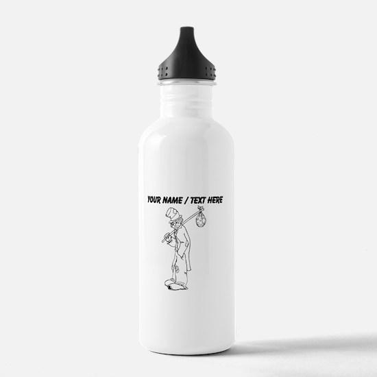 Custom Hobo Clown Water Bottle