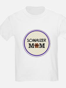 Schnauzer Dog Mom T-Shirt