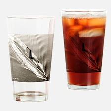 uss trumpetfish framed panel print Drinking Glass