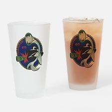 uss trumpetfish patch transparent Drinking Glass