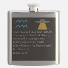 Luke 22:10 Aquarius Flask