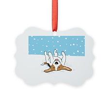 snowbeaglebank Ornament