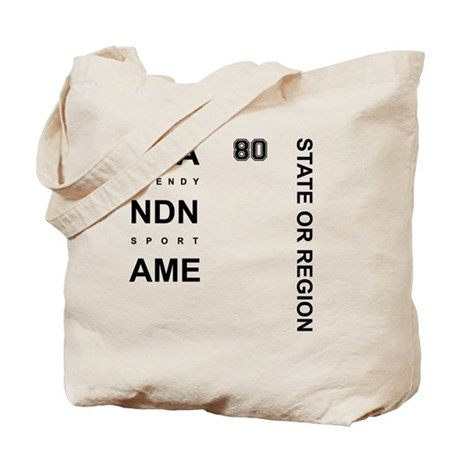 Brand Name - Too big for one line Tote Bag