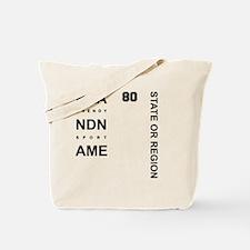 Brand Name - Too big for one line Tote Bag