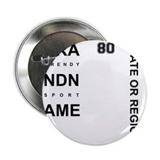 """Brand Name - Too big for one line 2.25"""" Button"""