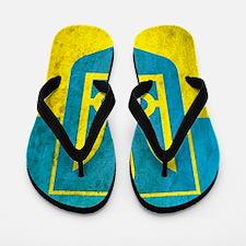 Vintage Ukraine Flip Flops