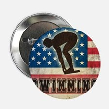 "Grunge USA Swiumming 2.25"" Button"