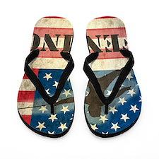 Grunge USA Fencing Flip Flops
