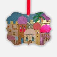 Holy Land Happy Christmas Ornament