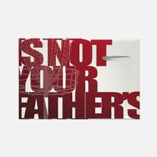 Not your fathers golf Rectangle Magnet