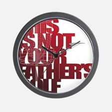 Not your fathers golf Wall Clock