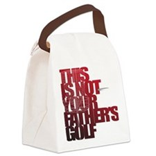 Not your fathers golf Canvas Lunch Bag