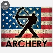Grunge Archery Puzzle