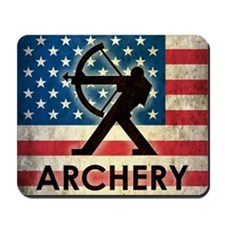 Grunge Archery Mousepad