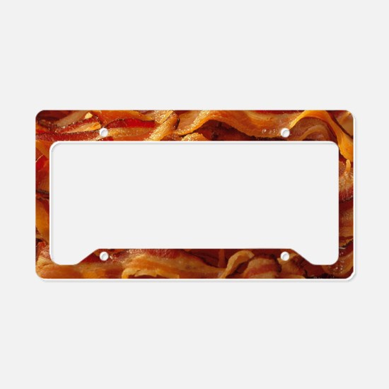 Bacon License Plate Holder