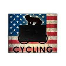 Grunge Cycling Picture Frame