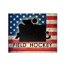 Grunge USA Hockey Picture Frame