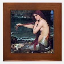 mermaid Framed Tile