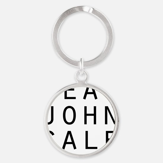 eat john cale ping Round Keychain