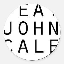 eat john cale ping Round Car Magnet
