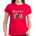 Boxer Dog Mom Gifts Women's Dark T-Shirt