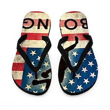 Grunge Boxing Flip Flops
