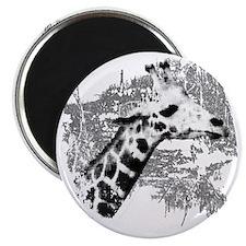 Giraffe Art Magnet