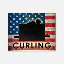 Grunge Curling Picture Frame