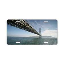 Akashi Kaikyo Bridge Aluminum License Plate