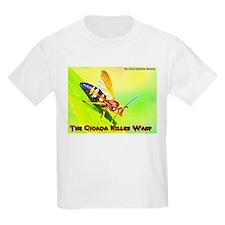 The Cicada Killer Wasp Kids T-Shirt