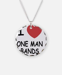 I heart one man bands Necklace