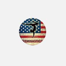 Grunge Gymanstics Mini Button