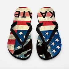 Grunge Karate Flip Flops