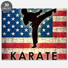 Grunge Karate Puzzle