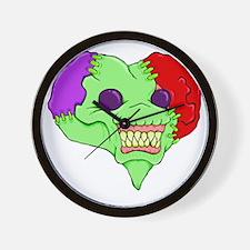 Zombie Heart Wall Clock