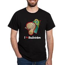 I Love Badminton T-Shirt