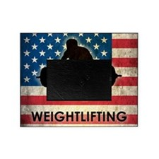 Grunge Weightlifting Picture Frame