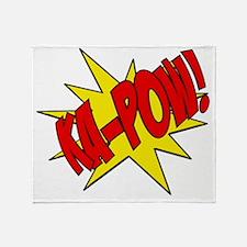 pow, kapow, ka-pow Throw Blanket
