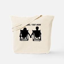 Custom Couple Relaxing Tote Bag