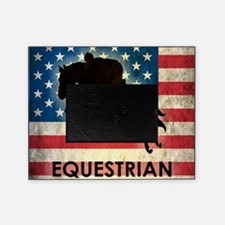 Grunge USA Equestrian Picture Frame