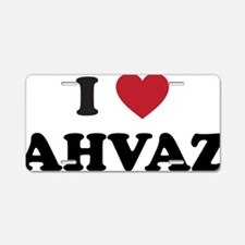 I Love Ahvaz Aluminum License Plate