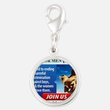 JOIN NCFM Silver Round Charm