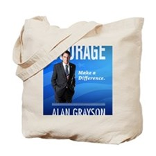 Courage: Make a Difference. Tote Bag