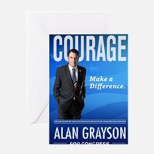 Courage: Make a Difference. Greeting Card