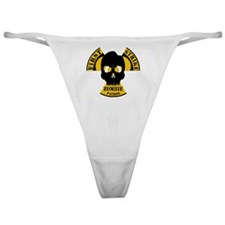 Radioactive Zombie Patrol Classic Thong
